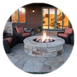 stone firepit