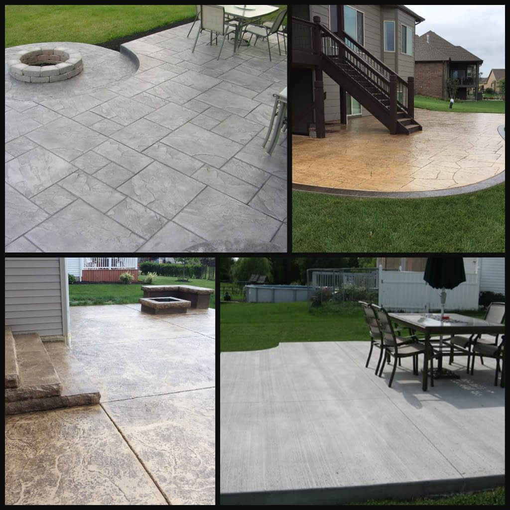 concrete slabs patios