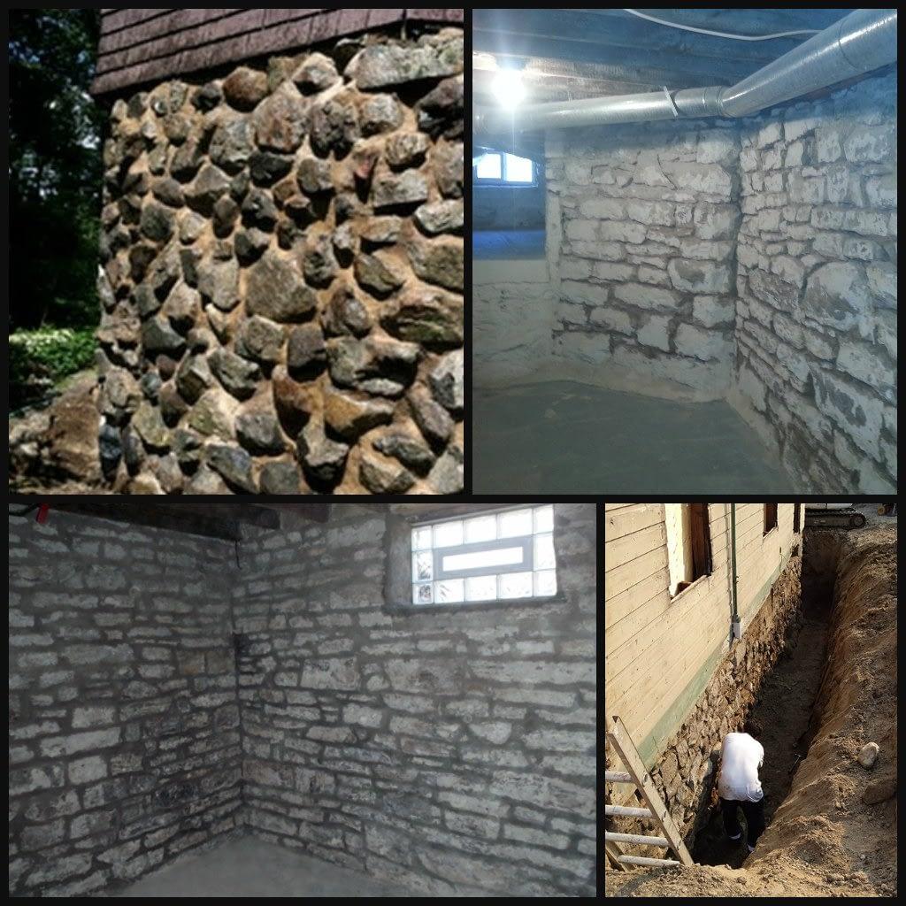 foundation repair collage