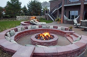 stone fire pits