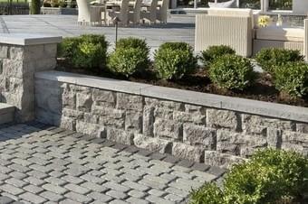 retaining landscape wall